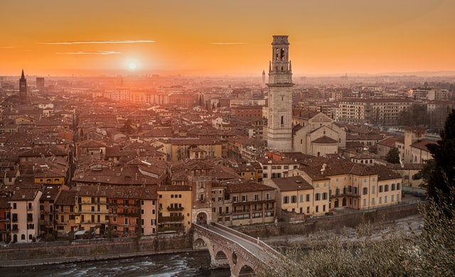 Life in Italy: 'Dante, bike rides and grappa keep the January blues at bay in Verona'