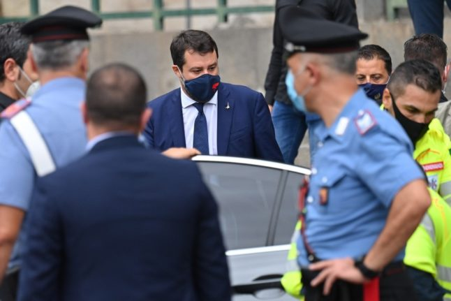 'I'm proud of what I did': Far-right Italian leader in court for blocking migrants