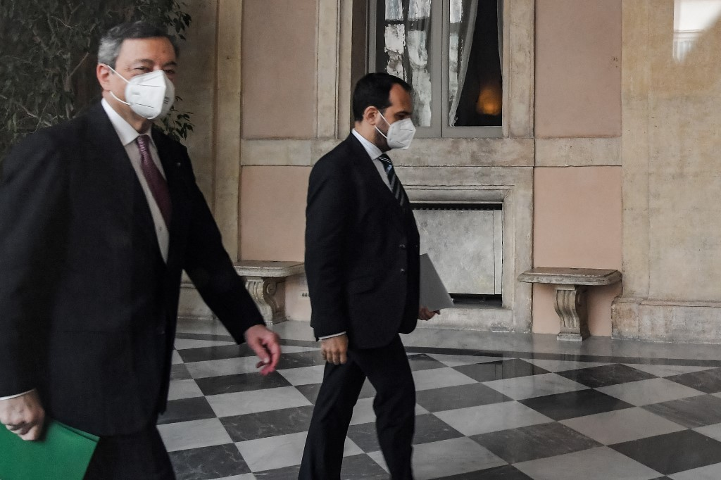 Italy's new PM Draghi to unveil plan to rescue Italy from virus crisis