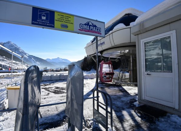 Anger in Italy as Monday's reopening of ski slopes cancelled