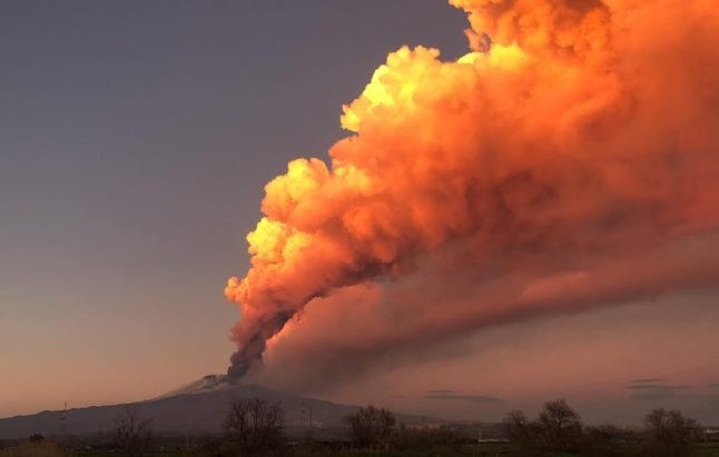 IN PHOTOS: A month of spectacular eruptions at Sicily's Mount Etna