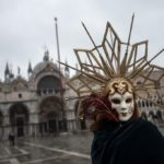 IN PHOTOS: Venice celebrates carnival without tourist crowds