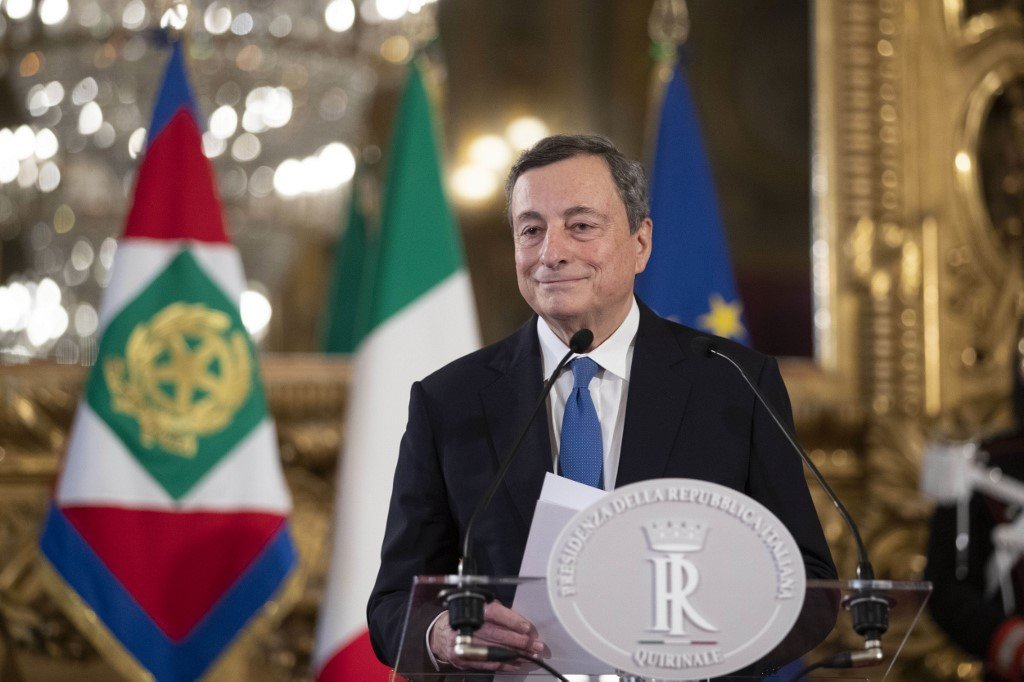 Key players rally behind Draghi in Italy's government talks