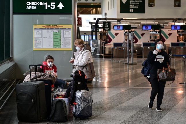 Italy approves Covid-tested flights from US to Milan