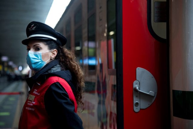 Italy to run 'Covid-free' trains on Rome-Milan route