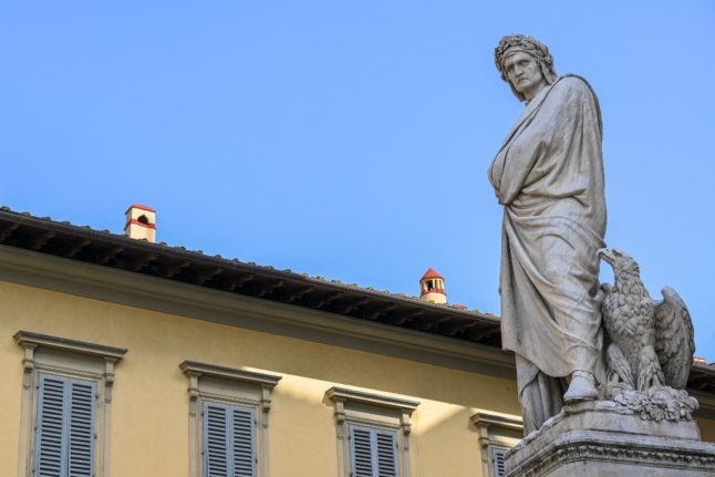 Dante Day: How Italy is celebrating its national poet