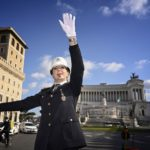'Like conducting an orchestra': Rome's first female traffic warden on duty in iconic square