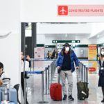 First passengers take Covid-tested flights from US to Milan
