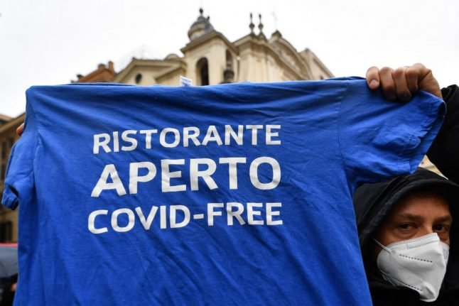 When is Italy likely to relax its coronavirus restrictions?