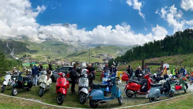 'Symbol of youth': Italy's iconic Vespa scooter marks 75th birthday