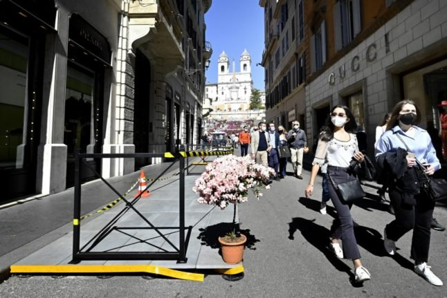 What changes from Monday in Italy's Covid 'yellow' zones?