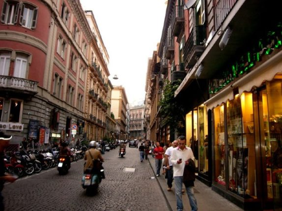 Naples shopkeepers take to the streets in underwear anti-lockdown protest