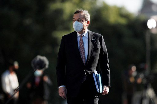 Italian PM Draghi changes Covid vaccines for second dose