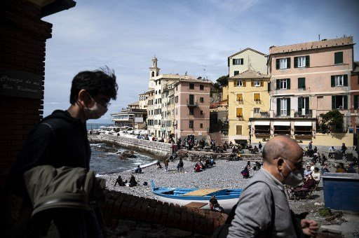 Italy to drop outdoor mask-wearing rule from June 28th