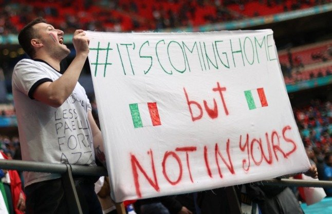 'It's coming home – where?' Six things Italy fans had to say ahead of the Euro 2020 final