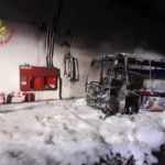 Driver saves 25 children as bus catches fire in north of Italy
