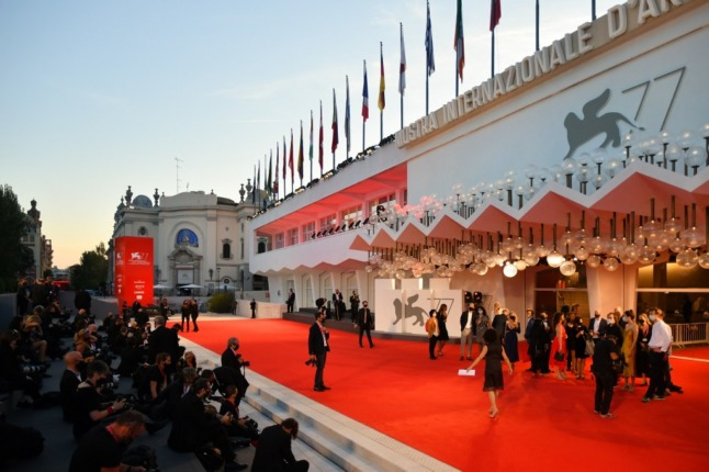 Venice film fest returns with another blockbuster line-up