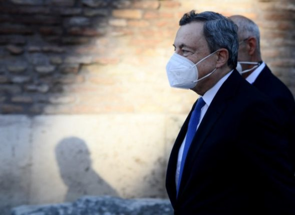 Italian PM Draghi urges G20 to do 'all it can' on Afghan women's rights