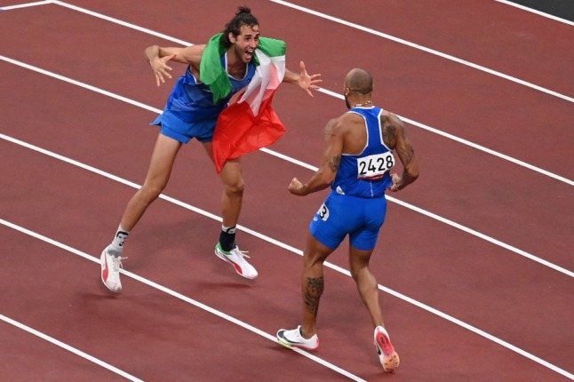 PHOTOS: Italy's most memorable medals at the Tokyo 2020 Olympic Games