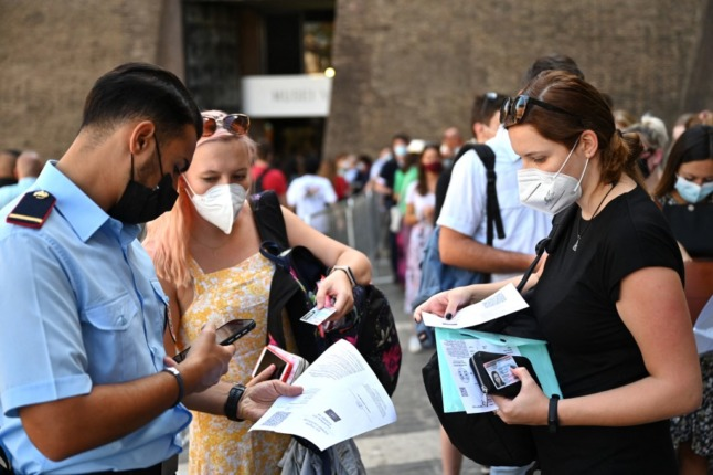 Q&A: Your questions answered about Italy's new Covid health pass