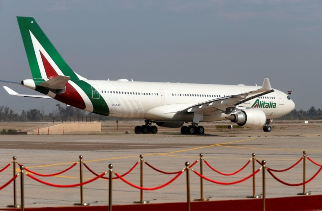EU finds Italy's Alitalia loans 'illegal' but airline free to keep money