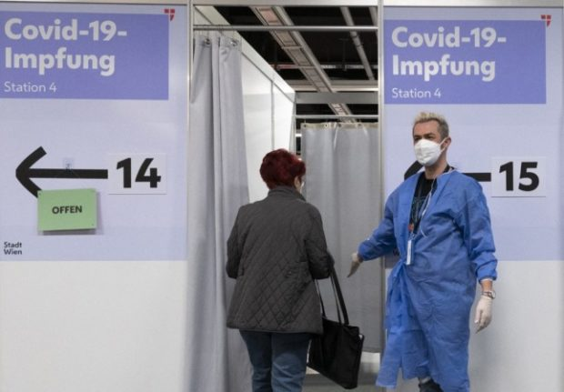How Austria plans to enforce a Covid lockdown for the unvaccinated