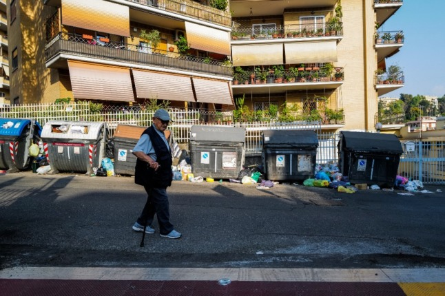 'Boars and cockroaches': Rome's rubbish and wildlife problem dominates local election