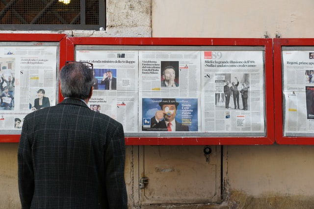 Analysis: Why doesn't Italian media look beyond the country's borders?