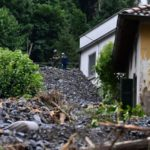 Italy hit by 20 'severe weather events' in a day as Liguria sees record rainfall