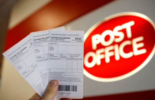 How Brexit will affect the postal service between Italy and the UK over Christmas